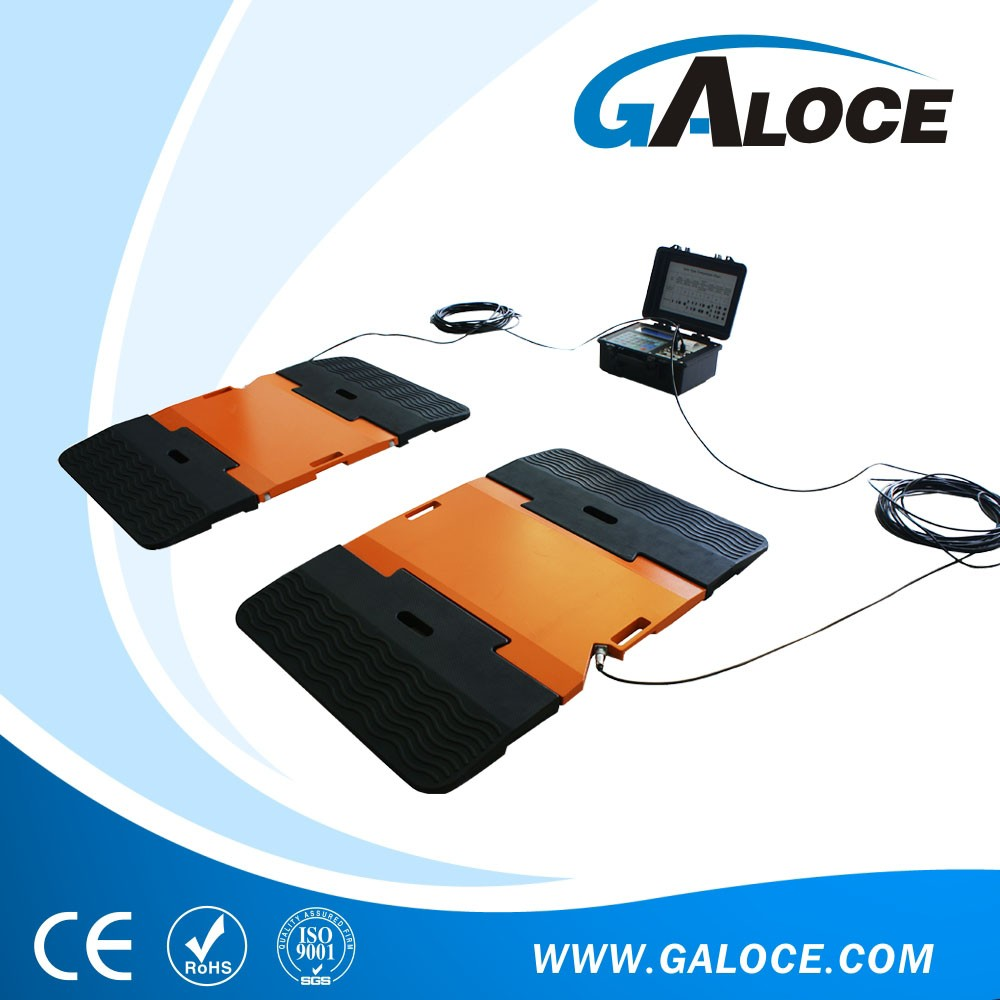 40ton portable truck weighing scale