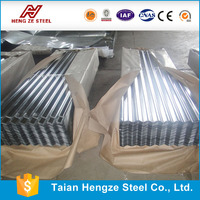 Galvanized Corrugated Steel Sheet / roofing metal sheet / Zinc coated steel sheet container homes