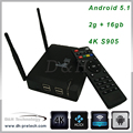 Smart TV Box quad Core Android 5.1 android quad core tv box 4k amlogic s912