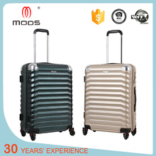 Black shiny polycarbonate trolley hardshell luggage