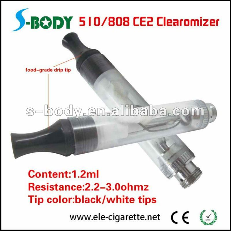 wholesale latest dual coil 510 CE2 clearomizer 510 tank CE2 xl clearomizer