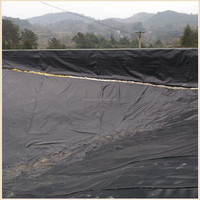 UV resistance black HDPE pond liner geomembrane roll,plastic waterproof material