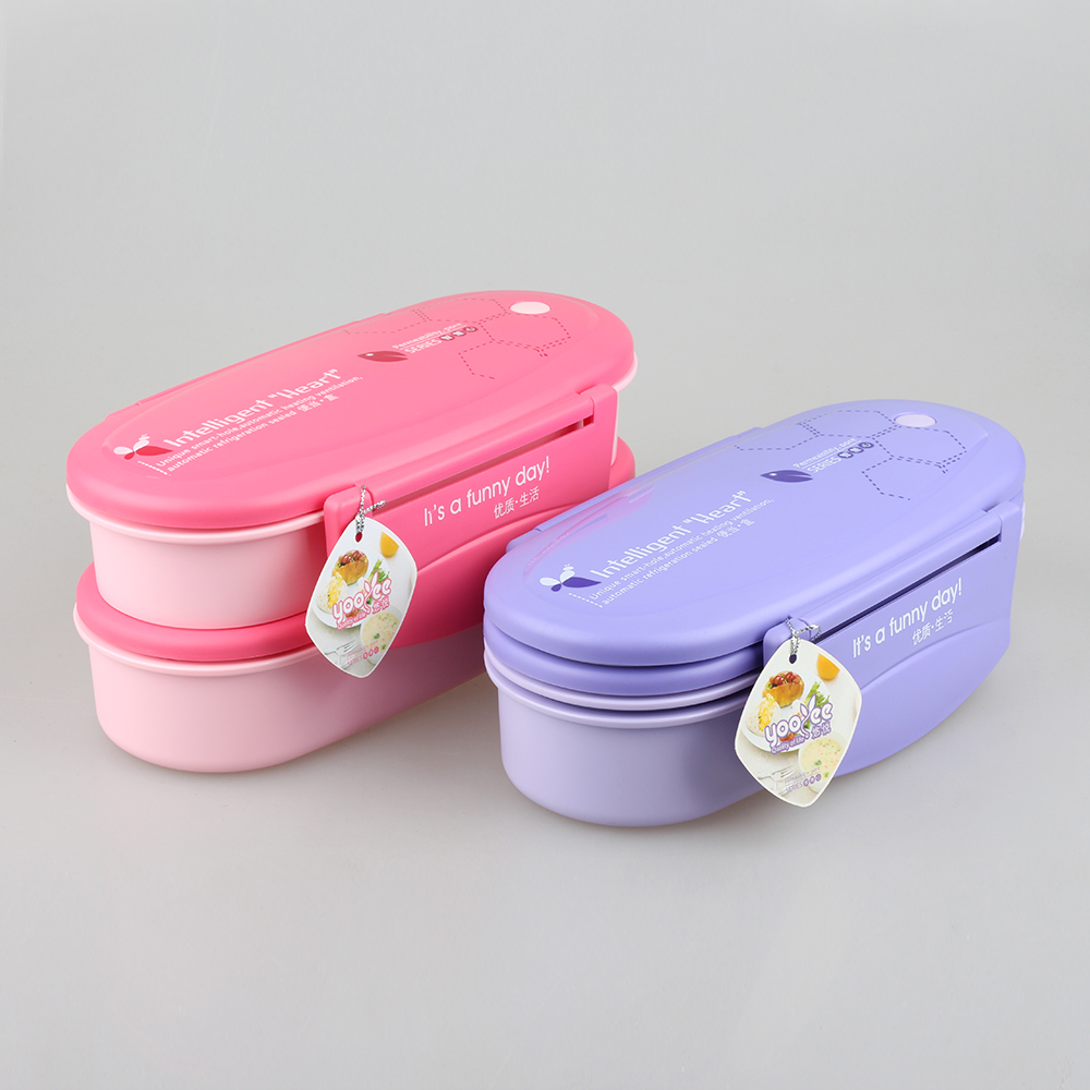 FDA Tableware Set Cute Lunch Boxes Keep Food Hot for School