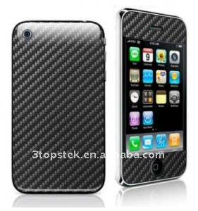 New Arrival-Carbon Fiber Sticker Skin for iphone