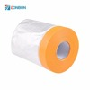 Free Samples PE Film Large Area Self Adhesive Protection Auto Plastic Pre taped Masking Film
