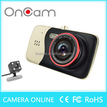 Hot selling user manual hd 1080P dual car camera dvr video recorder