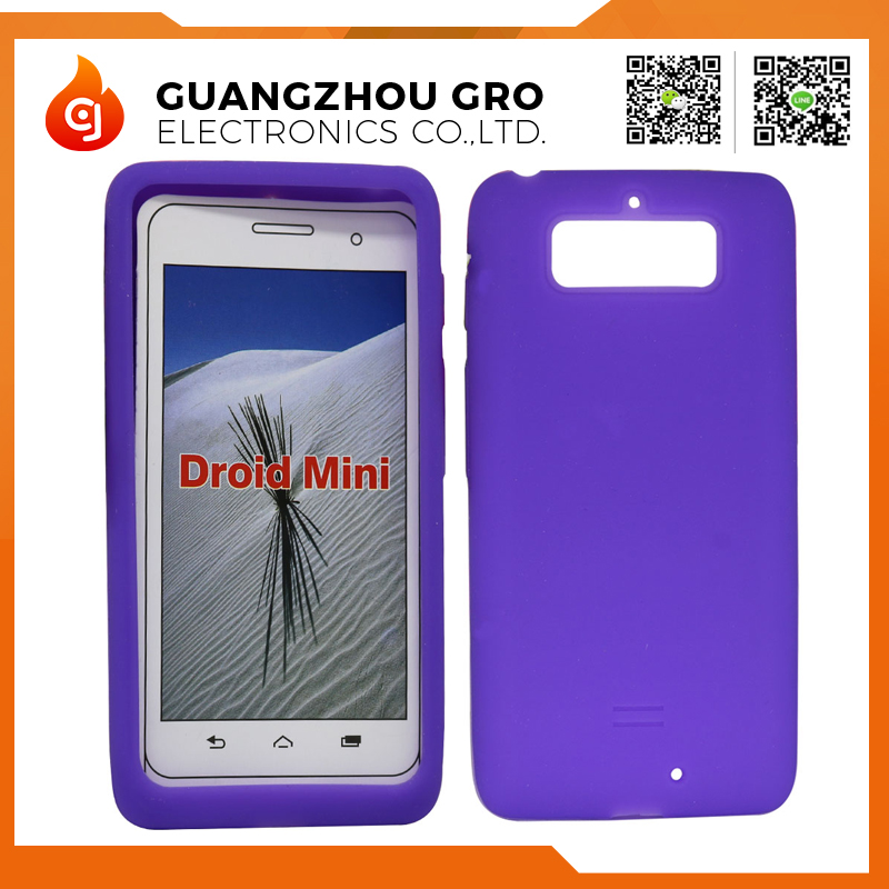 Factory Hot Sales Simple Silicone Case For Motorola XT1030