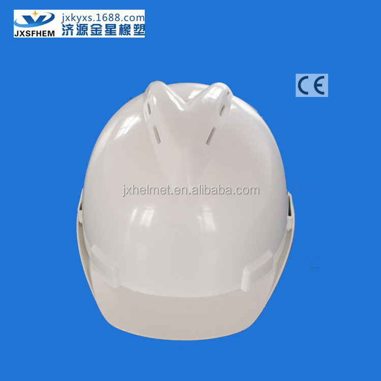 HDPE V model protective helmet with CE certificate-Wholesale protective helmet