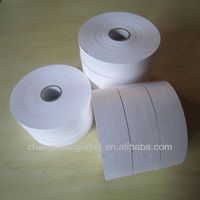 CS302 White coated Nylon Ribbon used for thermal transfer printing