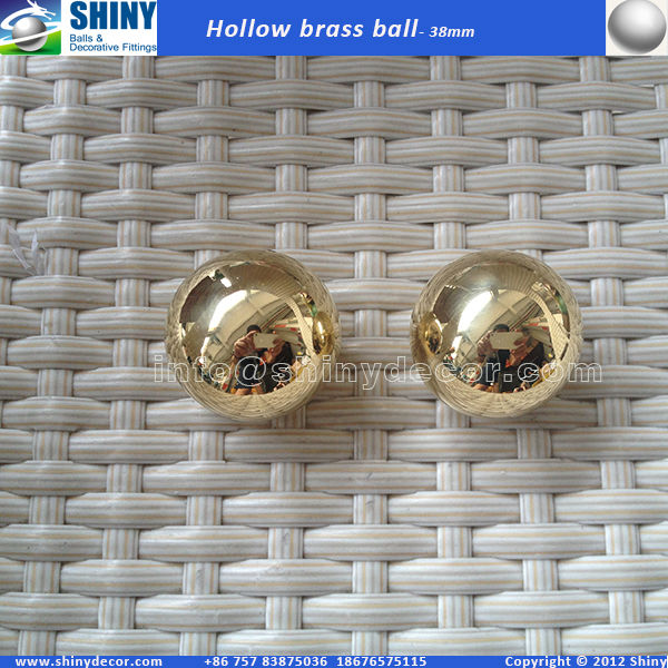38mm hollow brass sphere