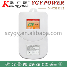 waterproof cctv power supply ac dc adapter 12V 1A and 2A