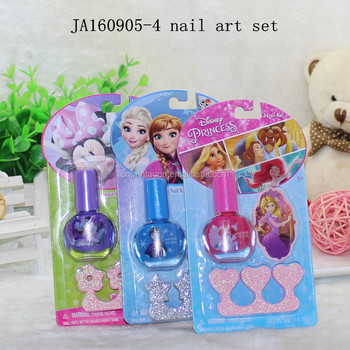Girl makeup unique nail polish glass bottles / nail polish holder