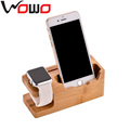 Made in China own factory hot seliing wooden charging dock station for mobile phone and smart watch