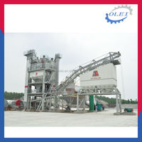 Fully-automatic super advanced colorful asphalt plant