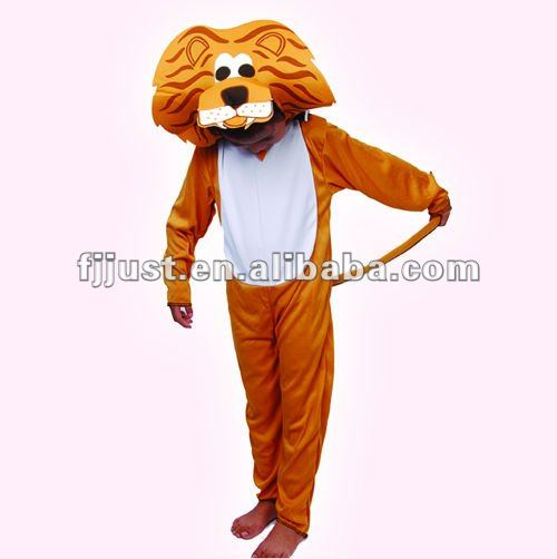 high quality kid sexy dance costume for lion