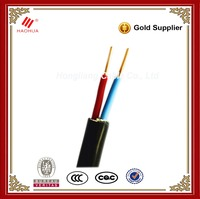 2 core power cables 2x1.5mm2 Electric wire cable hs code 0065