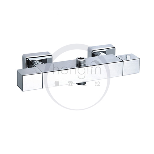 square thermostatic mixing valve for showerset