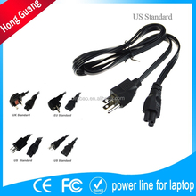 specialized in ac power cord iec c7 with wall mount plug