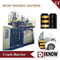 Power Lines crash barrier blow molding machine
