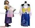Final Fantasy X Yuna' Costume for female Cosplay Costume Custom Made