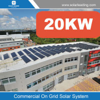 Industry used 20000w rooftop solar panel mounting system include pv solar modules also with frequency inverter