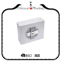 Free sample elegant engagement paper wedding gift box packaging box
