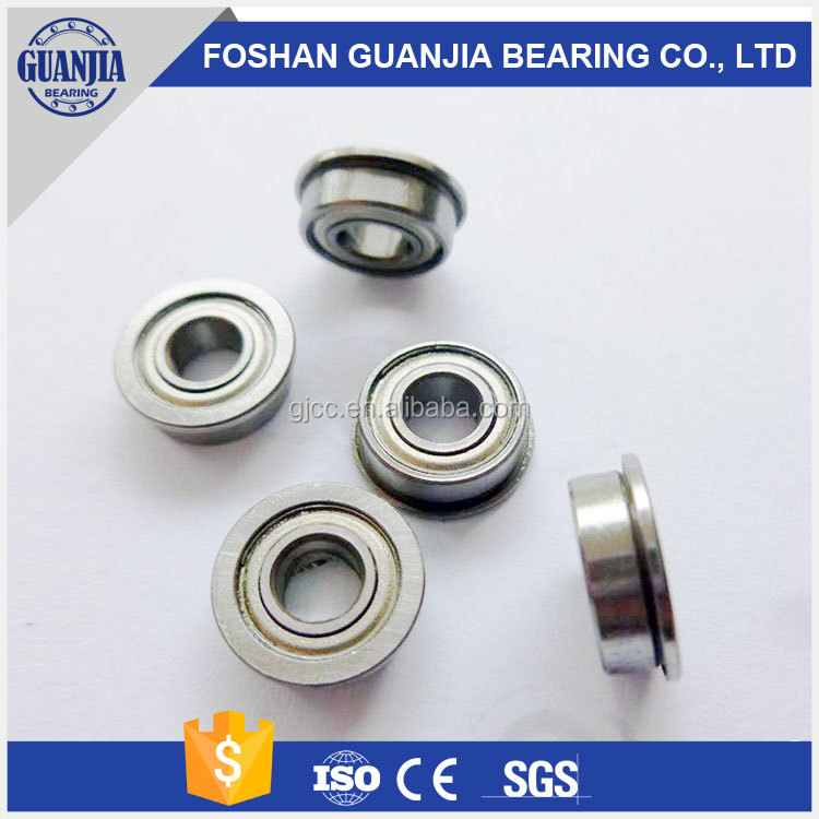 good quality flange bearing F623 F623ZZ 623-2Z/YB2 fk ball bearing list