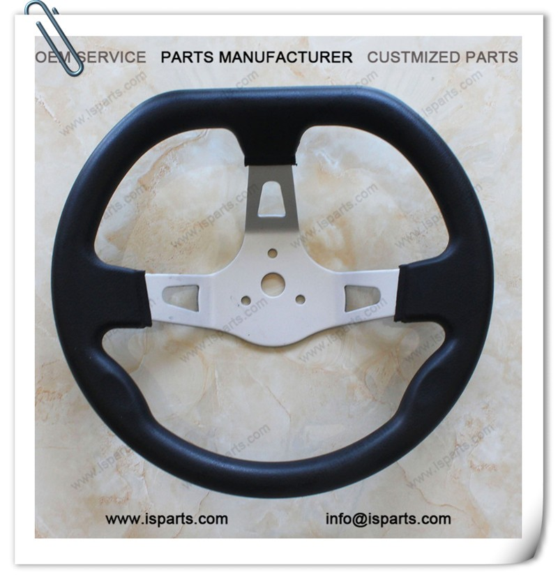 High Performance Go Kart 270mm Diameter Steering Wheel for Sale
