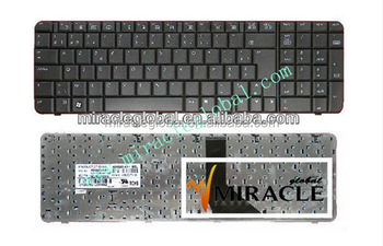 High quality laptop keyboard for hp 6820s black US FR layout