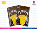 plastic snack food packaging bag with hanger hole