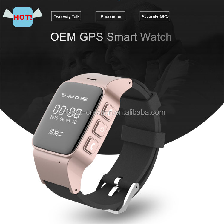 Locator Wrist Watch Gps+gsm OLED Sos,Smallest Gps Watch Tracker-caref Watch