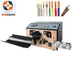 Automatic scrap wires stripper machine/waste copper cables stripping and peeling machine WL-220