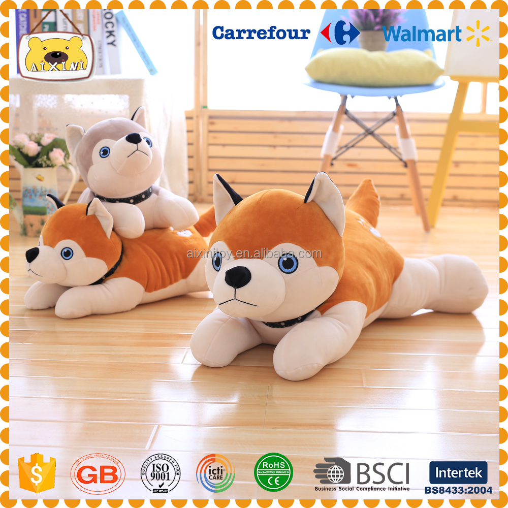 Hot Sale Big Eyes Husky Dog Plush Toy Doll Stuffed Animal Cute Plush Toy Kids Toy