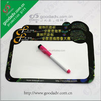 Competitive price promotional souvenirs magnetic whiteboard for kids