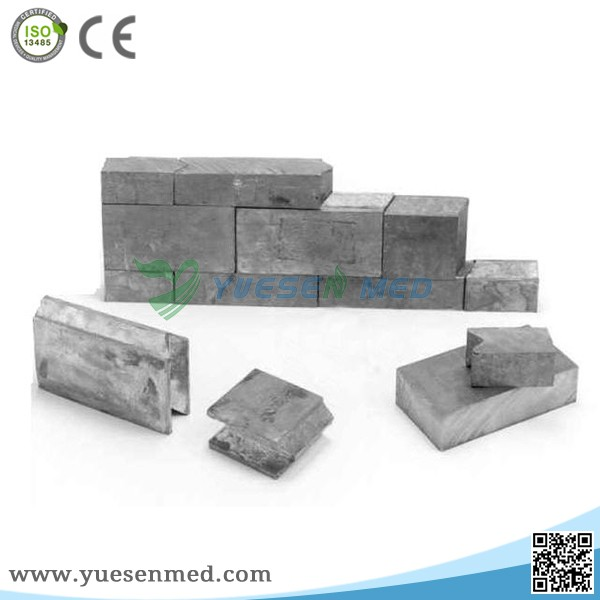 Cheap and high quality x-ray protection lead brick