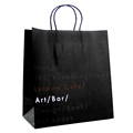 Nice quality New style latest flat handle paper grocery bags