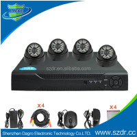 Hot china products wholesale h.264 security camera system high quality cctv dvr kit
