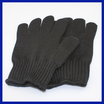 2017 Yhao Amazon supplier wholesale stainless steel wire mesh level 5 cut resistant gloves safety protection gloves