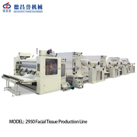 CJ-D-2950 15 lanes high yield fully automatic facial tissue paper manufacturing machine