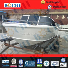 ISO Certificate 6 Persons Fishing Aluminum Boat