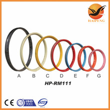 "children bicycle spare parts factory, hebei manufacturer color and black 16"" inch bike rims"