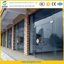 High intensity ultra thick 15mm toughened glass rates for curtain wall