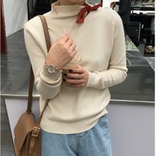 KS0002A Trendy new fashion design women clothing turtleneck casual pullover sweater