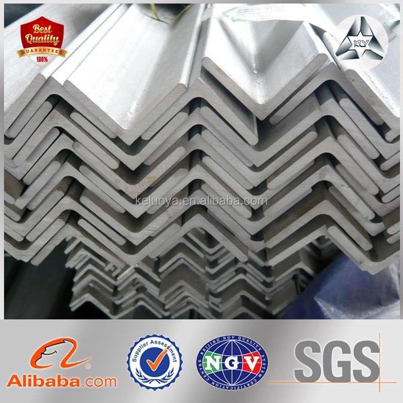 Iron Angle Bar Q195 / Q235 / Q345 / SS400 / S355 45 Degree Angle Iron Sizes / Types of Angle Iron