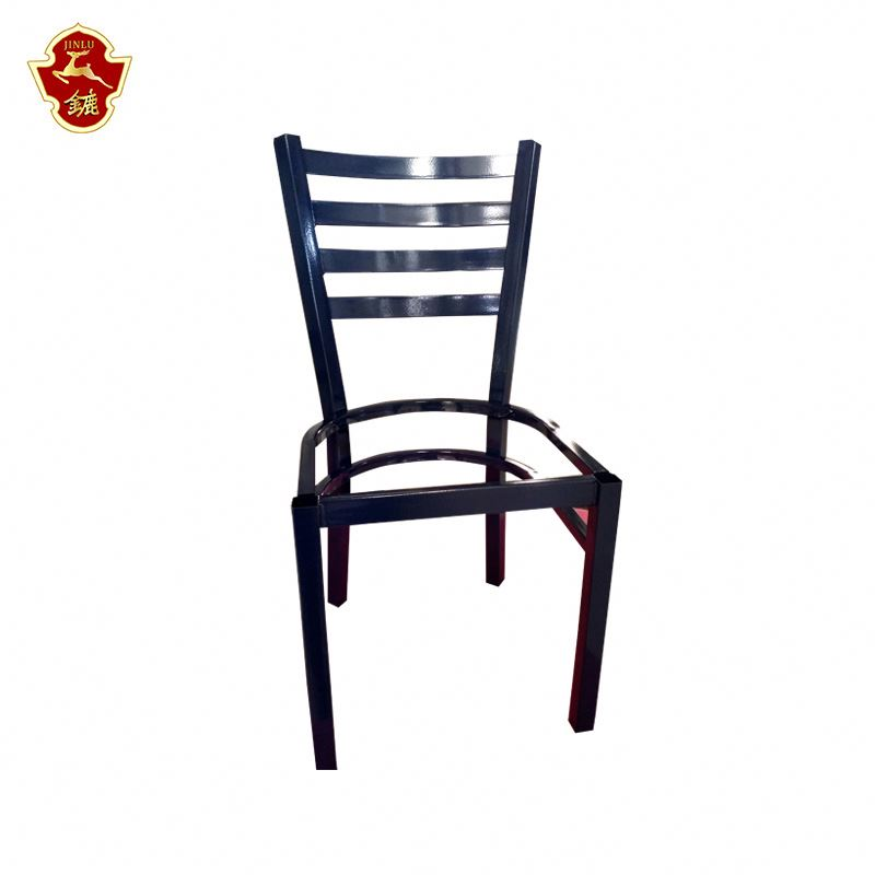 High quality chrome dining chair industrial dining chair