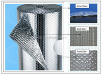 Clean /cost Effective Bubble Foil Thermal Insulation For House Wrap / Floor