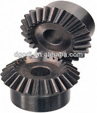 Custom small plastic/steel bevel spur gear differential bevel gear
