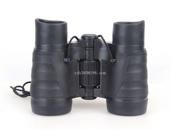 Environmental toy binoculars for children plastic gift binoculars Environmental rubber toy telescope 4X30