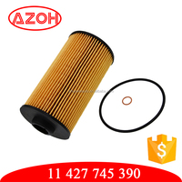 Car engine oil filter with 11 427 745 390,11427745390 for BMW E31 E32 E34 E38 E39 E52 E53 Z8 X5