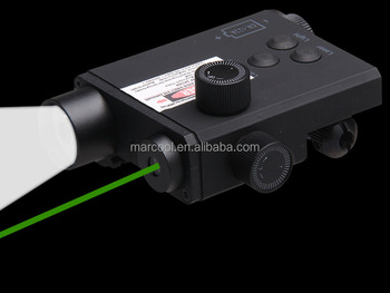 LF-2G Ultra Scout Light LED Weapon Flashlight with Green Laser Sight